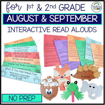 Interactive Read Alouds {August/September Edition}