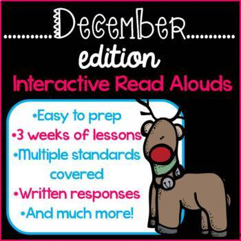Interactive Read Alouds {December Edition}