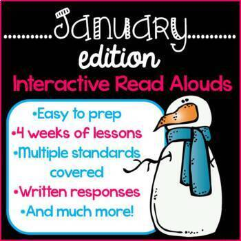 Interactive Read Alouds {January Edition}
