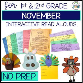 Interactive Read Alouds {November Edition}