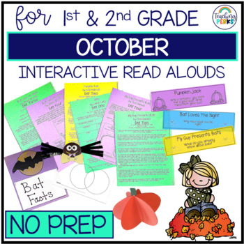 Interactive Read Alouds {October Edition}