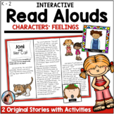Interactive Read Alouds for Character Feelings/Emotions 2 original stories