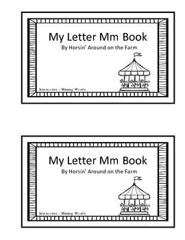 Interactive Reader - Letter Mm Theme