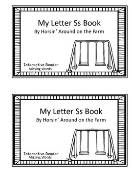 Interactive Reader - Letter Ss Theme