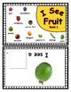 Interactive Reader with Real Fruit Pictures ~ Book 1 ~ Add to Nutrition Unit