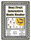 Interactive Reader with Real Fruit Pictures ~ Book 1 ~ Add