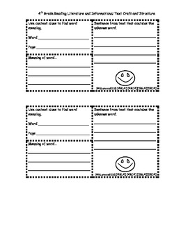 Interactive Notebook and Journal for 4th-5th Grade Freebie