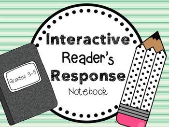 Interactive Reader's Response Notebook Grades 3-5