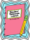 Interactive Readers' Response Notebook {Reading Journals} Launch
