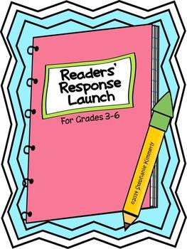 Interactive Readers' Response Notebook {Reading Journals} Launch