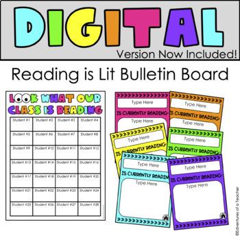 Interactive Reading Bulletin Board