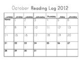 Interactive Reading Calendar - August-June