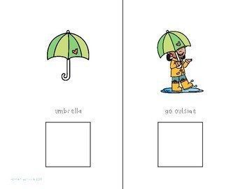 Dressing for Rainy Weather Interactive Comprehension Book