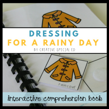 Interactive Reading Comprehension Book: Dressing for Rainy