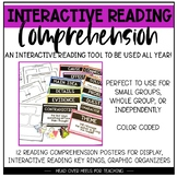 Interactive Reading Comprehension {Key Rings, Posters, Organizers}