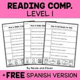 Interactive Reading Comprehension 1