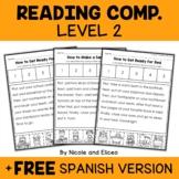 Interactive Reading Comprehension 2