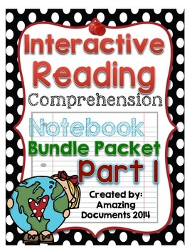 Interactive Reading Comprehension Notebook (Journal) - Part 1