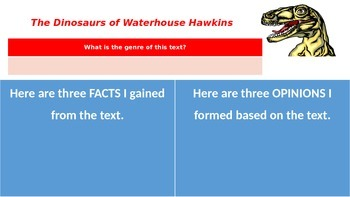The Dinosaurs of Waterhouse Hawkins (Interactive Reading Guide) Reading Street