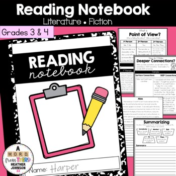 Reading Interactive Notebook: Literature