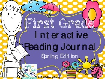 First Grade Interactive Reading Journal