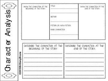 First Grade Interactive Reading Journal