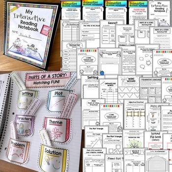Interactive Reading Journal - 1st Grade - Common Core Aligned