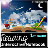 Interactive Reading Journal - 1st Grade - Common Core Aligned