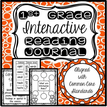 Interactive Reading Journal (First Grade-Common Core!)