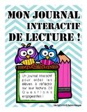 Interactive Reading Journal - Journal de lecture interactif