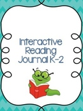 Interactive Reading Journal K-2 - 14 Common Core Aligned F