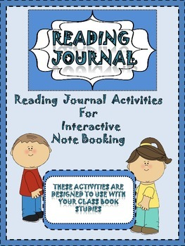 Interactive Reading Journal Templates