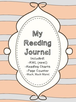 Interactive Reading Journal and BONUS Reading Charts