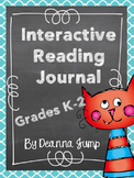 Interactive Reading Journals K-2 Bundle Reading Literature & Informational Text