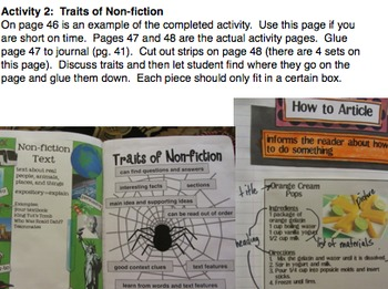 Interactive Reading Notebooks Printables Foldables Journals STAAR Literacy