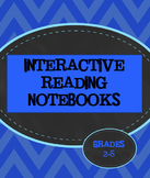 Interactive Reading Notebooks Printables Foldables Journal STAAR Literacy Anchor