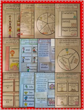 Interactive Reading Literature Notebook for the Primary Grades