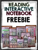 Interactive Reading Literature and Informational Text Notebook FREEBIE