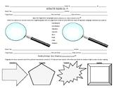Interactive Reading Log (Reading Response Journal or Liter