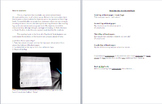 Interactive Reading Log: Flap Book Instructional Sheet for