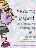 Interactive Reading Log Journal