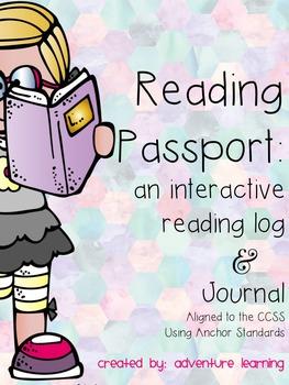 Interactive Reading Log Journal