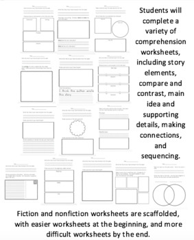 Interactive Reading Logs for the Entire Year