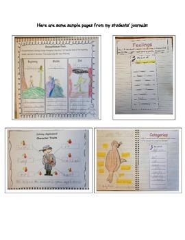 Interactive Reading Notebook 1st Grade