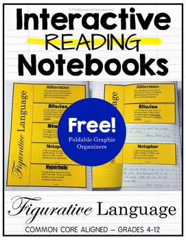 Interactive Reading Notebook - Figurative Language Free Download