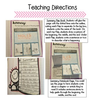 Whole Year Interactive Reading Notebook