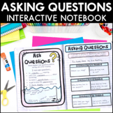 Asking Questions - Reading Interactive Notebook | Distance