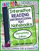 Interactive Reading Notebook Bundle for Grades 2-3: Literature & Informational