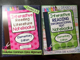 Interactive Reading Notebook Bundle for Grades 2-3 SPIRAL BOUND Hard Copies