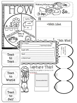 Interactive Reading Notebook: Common Core Reading Informational Text